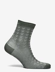 Becksöndergaard - Houndstooth Sora Sock - socks - duck green - 1