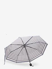 Becksöndergaard - Striped Transparent Umbrella - parasole - eventide - 2