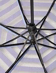 Becksöndergaard - Striped Transparent Umbrella - parasole - eventide - 3