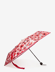 Becksöndergaard - Poppy Transparent Umbrella - parasole - fiery red - 1