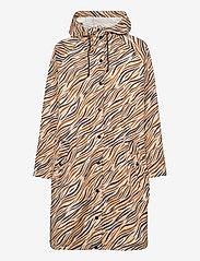 Becksöndergaard - Zobreo Magpie Raincoat - regnjakker - silver gray - 0