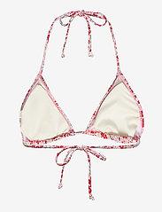 Becksöndergaard - Flofield Bikini Top - bikinitopper - fiery red - 2