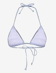 Becksöndergaard - Striba Ailis Bikini Top - bikinitopper - blue - 2