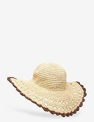 Becksöndergaard - Connie Straw Hat - stråhatte - nature - 1