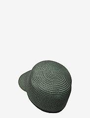 Becksöndergaard - Kalani Straw Hat - stråhatte - army - 1