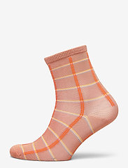 Becksöndergaard - Square Rainbird Sock - sokker - muted clay - 0