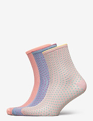 Becksöndergaard - Mix Sock Pack W. 15 - sokker - clay/blue/violetice - 0