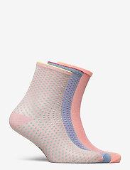 Becksöndergaard - Mix Sock Pack W. 15 - sokker - clay/blue/violetice - 1