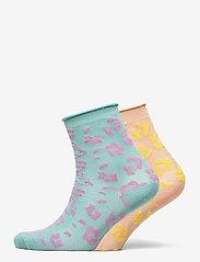 Becksöndergaard - Mix Sock Pack W. 17 - sokker - clay/blue - 0