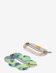 Becksöndergaard - Clarinda Hairclip - hair pins - summer green - 1