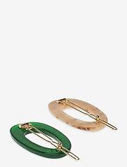 Becksöndergaard - Rocia Hairclip - hair pins - golf green - 1