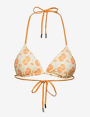 Becksöndergaard - Celesta Bikini Top - bikini med trekantform - ivory - 1