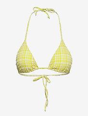 Becksöndergaard - Eli Bikini Top - bikini med trekantform - yellow - 0