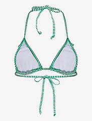 Becksöndergaard - Striba Ailis Bikini Top - bikinitopper - golf green - 1