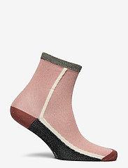 Becksöndergaard - Dean Summerblock Sock - sokker - dusty pink - 1