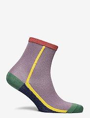 Becksöndergaard - Dean Summerblock Sock - sokker - lilas - 1