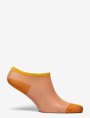 Becksöndergaard - Dollie Harlequin Sock - steps & footies - russet orange - 1