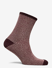 Becksöndergaard - Drop Needle Glow Sock - sokker - dusty pink - 1