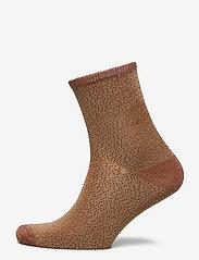Becksöndergaard - Drop Needle Glow Sock - sokker - lark - 0