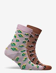 Becksöndergaard - Mix Sock Pack W.13 - sokker - hazel/roseshadow - 3