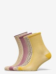 Becksöndergaard - Mix Sock Pack W.20 - sokker - sand/bamboo/sand/mauve - 0