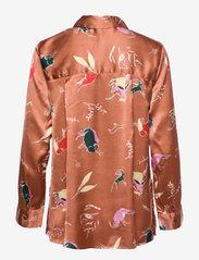 Becksöndergaard - Chumana Amara Shirt - langermede skjorter - pecan brown - 2