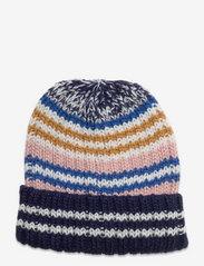 Stripes Doba Beanie - MARITIME BLUE