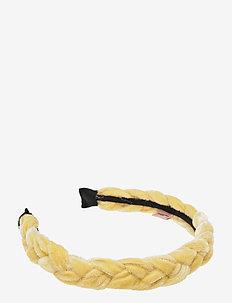 Hairband Braid - hair band - yellow