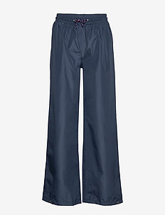 Solid Maggie Rain Pants - pantalons larges - navy blue
