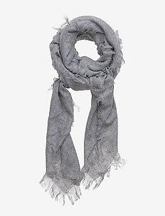 Agot - sjalar & halsdukar - grey melange