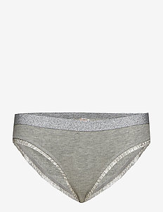 Solid Tasmine Bottom - LIGHT GREY MELANGE