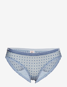 Tallie Soft Dot Bottom - COUNTRY BLUE