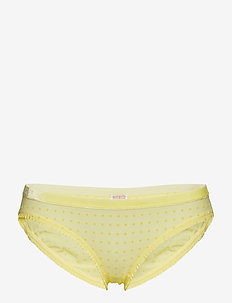 Tallie Soft Dot Bottom - LIMELIGHT