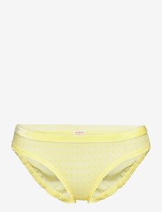 Tallie Soft Dot Bottom - slips - limelight