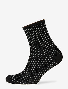 Dina Small Dots - socks - black