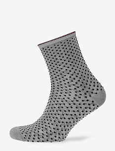Dina Small Dots - GREY MELANGE