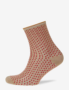 Dina Small Dots - red love