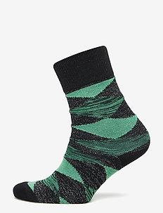 Didde Squares - socks - grass green