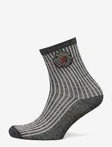 Dean Deco - sokker - grey melange