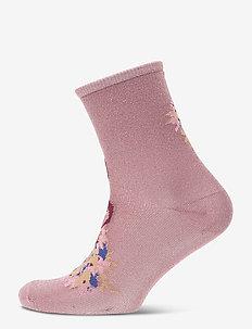 Dina Holly - socks - wistful mauve