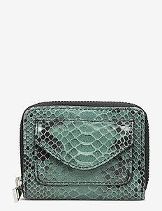 Snake Petit Wallet - porte-monnaies - simply green