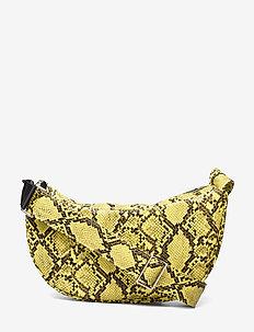 Snake Moon Bag - shoulder bags - yellow