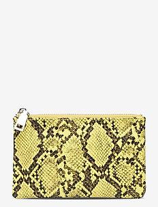 Snake Lyla Purse - porte-monnaies - yellow