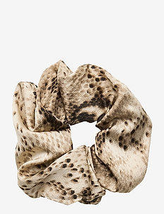 Snake Scrunchie - hår accessories - brownish