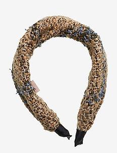 Headband Olivian - hair band - brownish