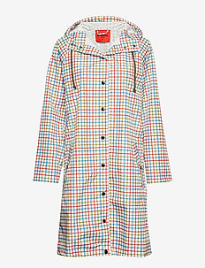 Magpie summer check - OFF WHITE