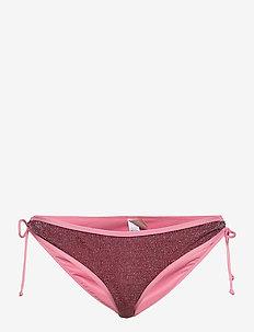 Bibi Glitz - side tie bikinier - rose