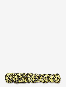 Braided band flower - hair pins - limelight