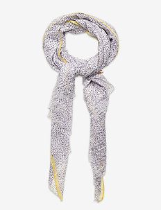 Inky Dots Scarf - sjaals - lavender