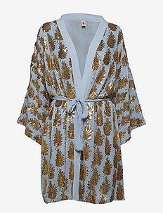 Liberte Leaf Kimono - POWDER BLUE